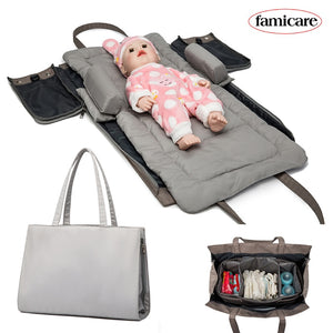 lovebabymammy.com Baby Removable Bed Diaper Bag Maternity Mommy Totes Bags  Travel Bed Portable Bed-in-Bed Cradle Nest Mattress Bag Hobos
