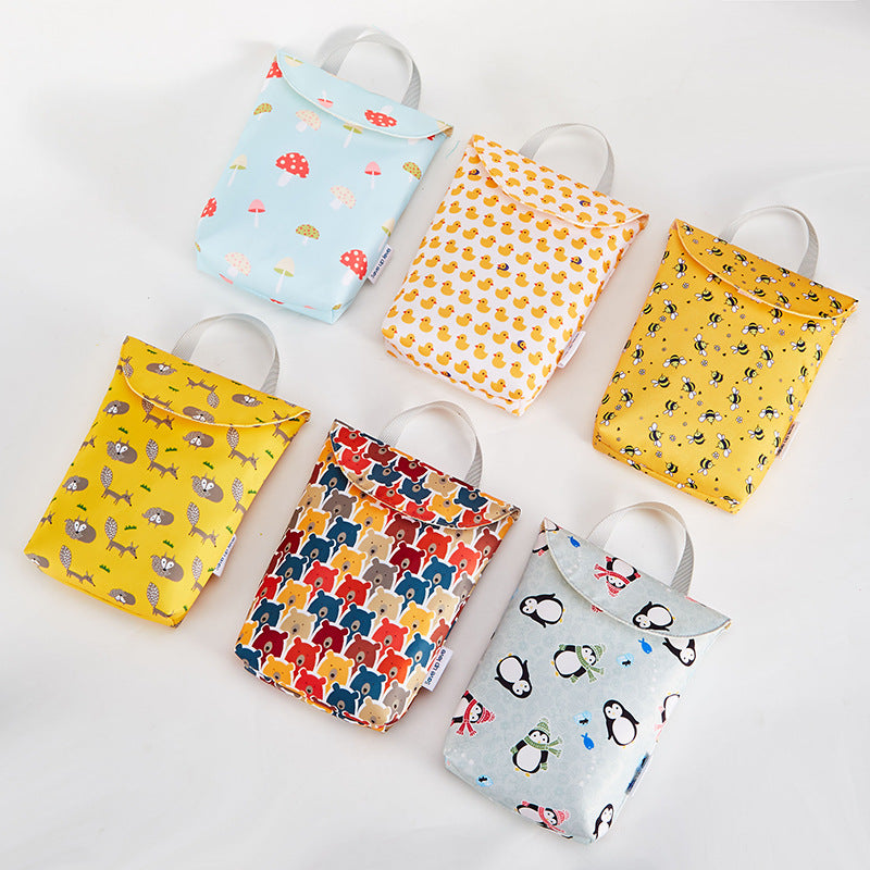 lovebabymammy.com Hot Sale Multifunctional Baby Diaper Bags Reusable Fashion Waterproof Diaper Organizer Portable Big Capacity Mummy Bag Wholesale