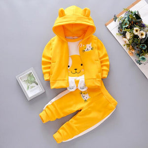 lovebabymammy.com Baby Girls Clothing Sets kids girl spring autumn track suit bebe girls cute clothes suit childern girl cotton 3pcs suit