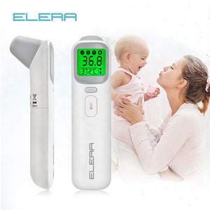 lovebabymammy.com ELERA Baby Thermometer Infrared Digital LCD Body Measurement Forehead Ear Non-Contact Adult Body Fever IR Children  Termometro