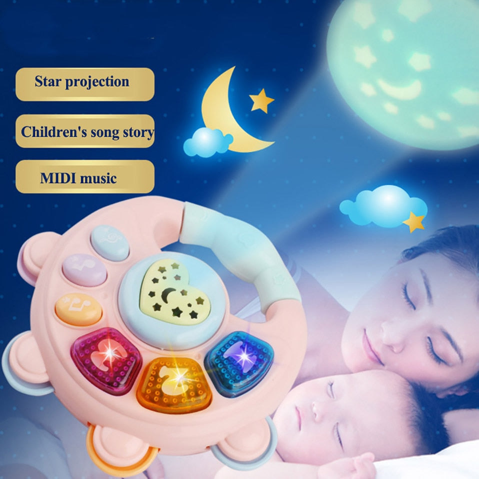 lovebabymammy.com Baby Rattles Toys Newborn Hand Bells Baby Toys 0-12 Months Infant Digital Graphic Cognition Early Educational Toys for Toddlers