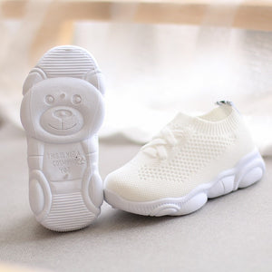 lovebabymammy.com Kids Shoes Antislip Soft Bottom Baby Sneaker Casual Flat Sneakers Shoes Children size Girls Boys Sports Shoes