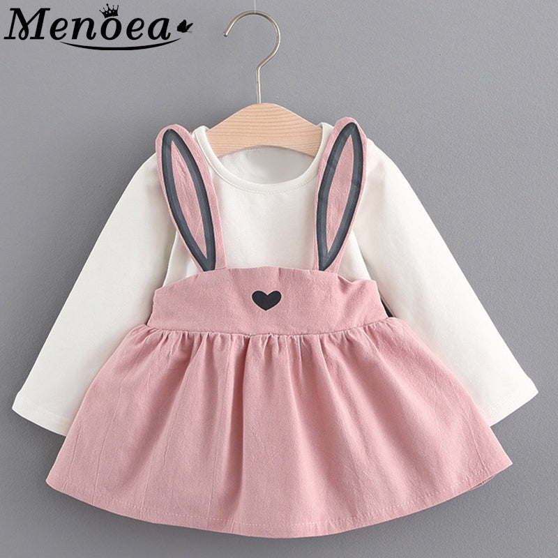 lovebabymammy.com 2020 New Autumn Style Newborn Baby Girls Clothing Sets Infant Rabbit Ears Suit Babies Girl Clothes