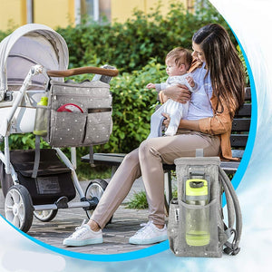 lovebabymammy.com Baby Diaper Bags For Mom Backpack Fashion Star Maternity Bag Stroller Bag Multifunctional Nappy Bag For Mummy