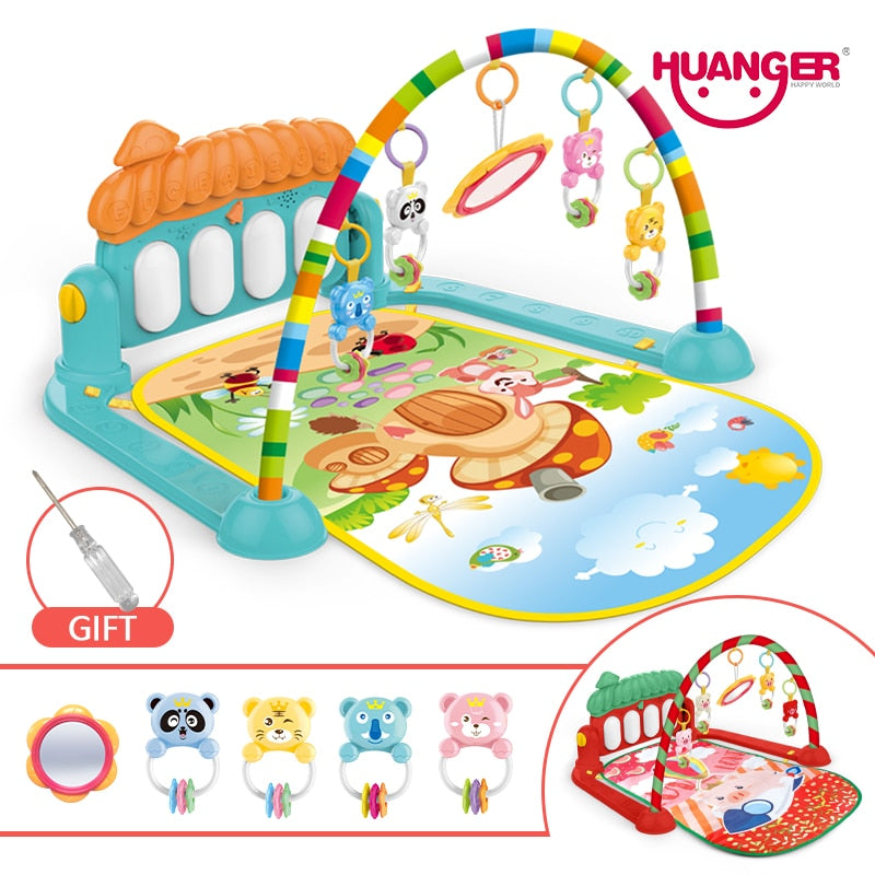 lovebabymammy.com Baby play mat carpet musical activity gym puzzle children's tapete infantile Soft pad floor game creeping developmental toy