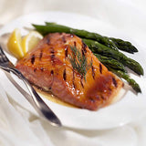 Dickinsons Apricot Glazed Balsamic Salmon