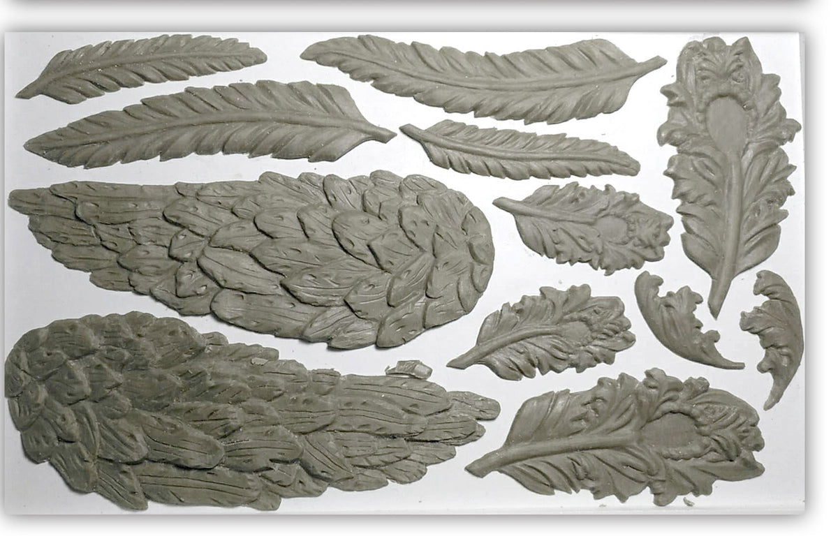 Wings and Feathers 6x10 Decor Mould™