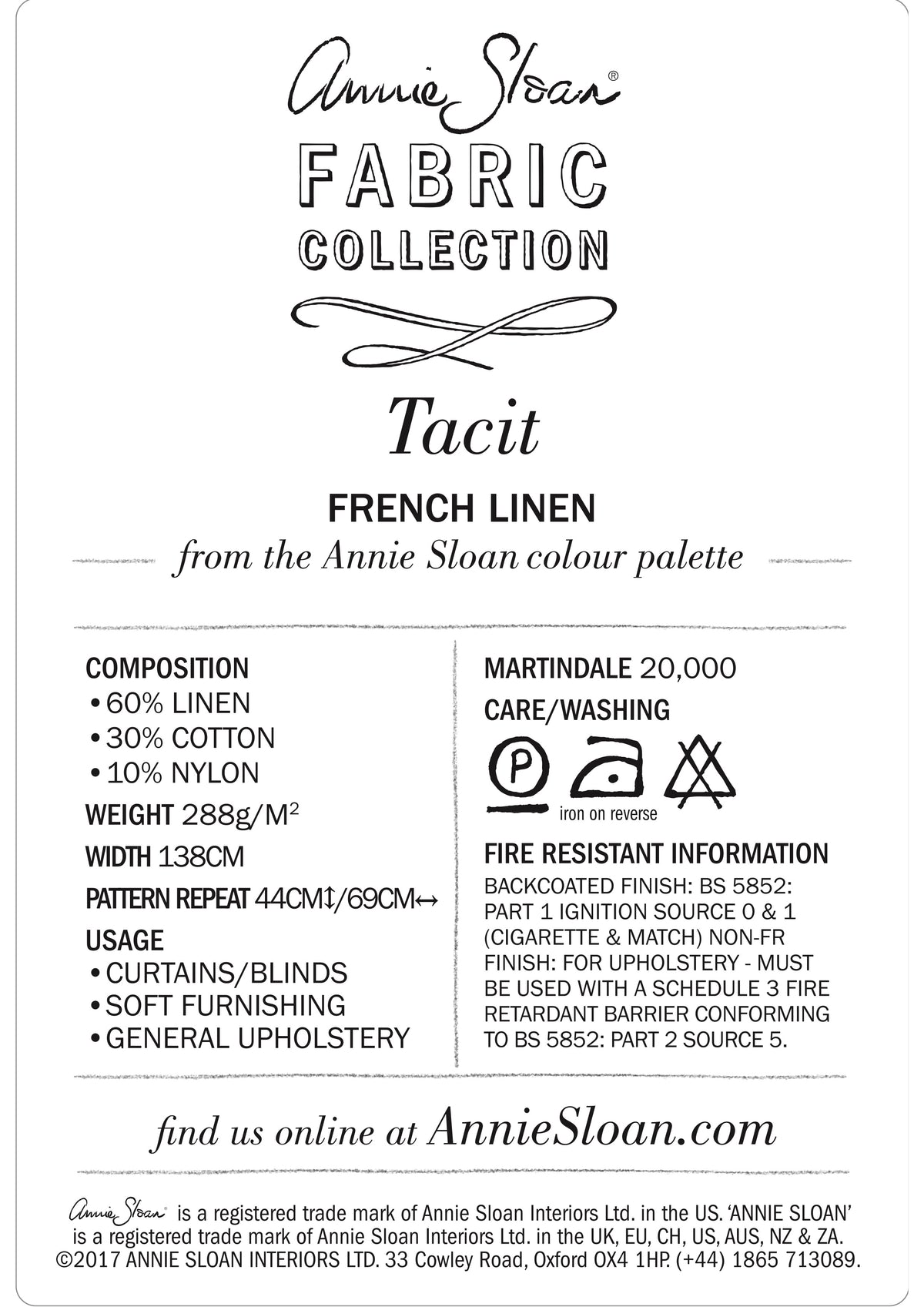 Tacit in French Linen