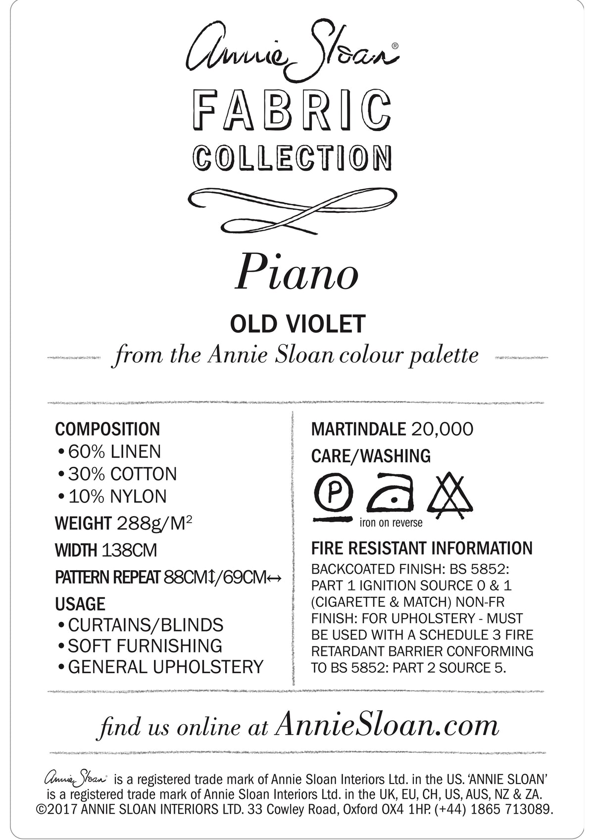 Piano in Old Violet