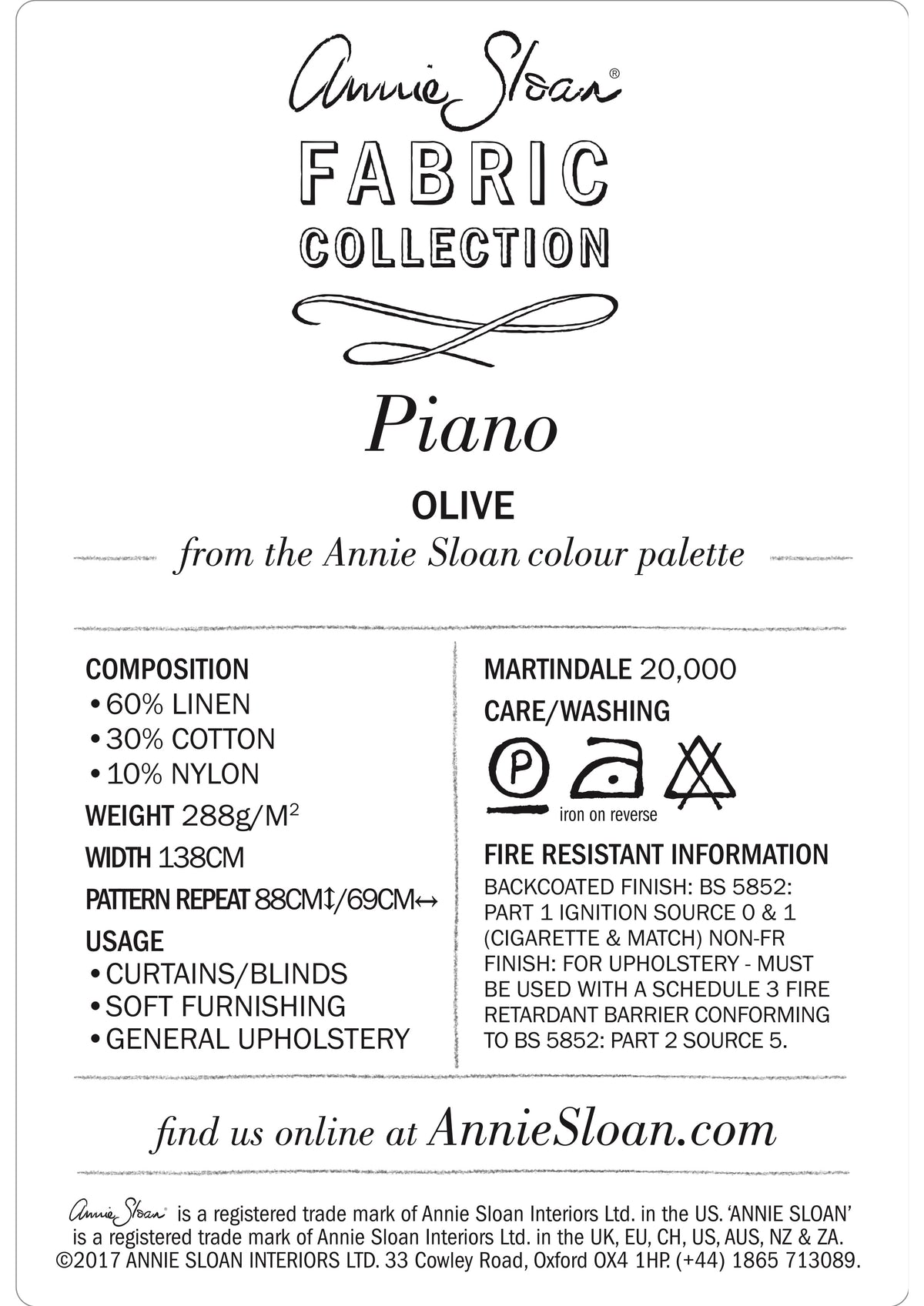 Piano in Olive