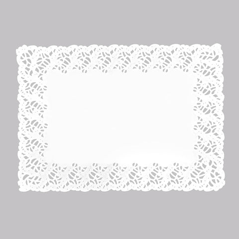 Blondas Rectangulares Color Blanco 8 Unidades Marca Ibili