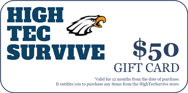 HighTecSurvive Gift Card - HighTecSurvive