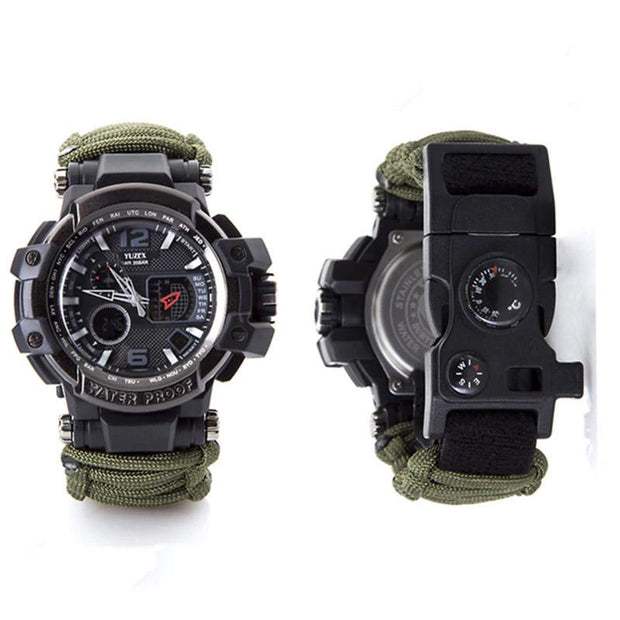 Survival Paracord Watch - HighTecSurvive