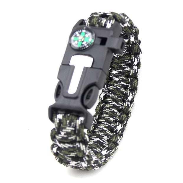 Multifunctional Survival Paracord Bracelet - HighTecSurvive
