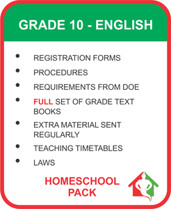 GRADE 10 ENGLISH BUNDLE