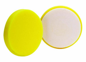 "BUFF 430G 4"" Yellow Foam Grip Pad for Dual Headed Polisher"