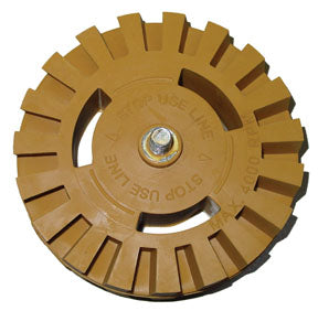 Stripe Removal Tractor Wheel