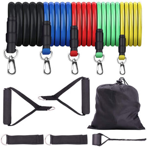 Resistance Bands Set. longer - more resistant - premium quality