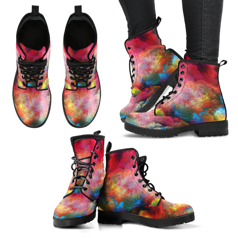 Colorful Spiritual 4 Handcrafted Boots