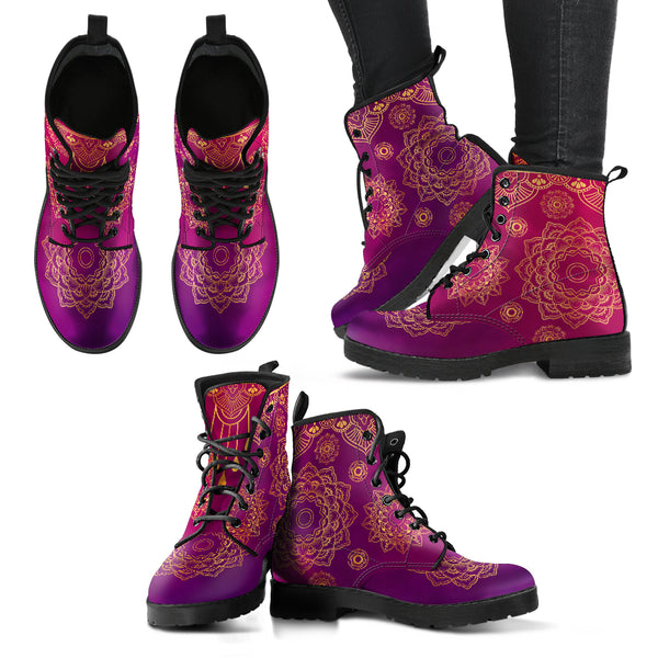 Mandala Handcrafted Boots Limited Edition