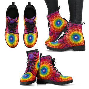 Chakra Circle Handcrafted Boots