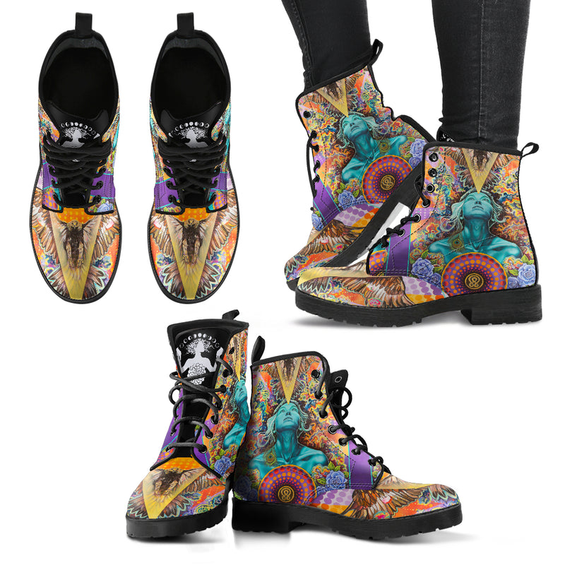 The Rebel - Women's Leather Boots