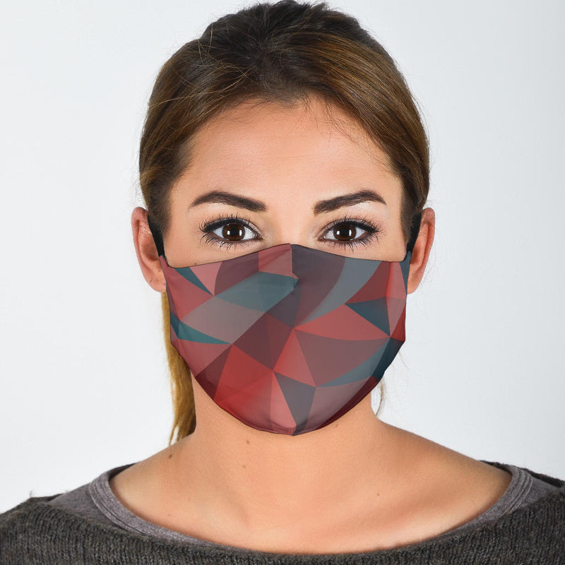 Polygon Face Mask with 5 Layer Filters