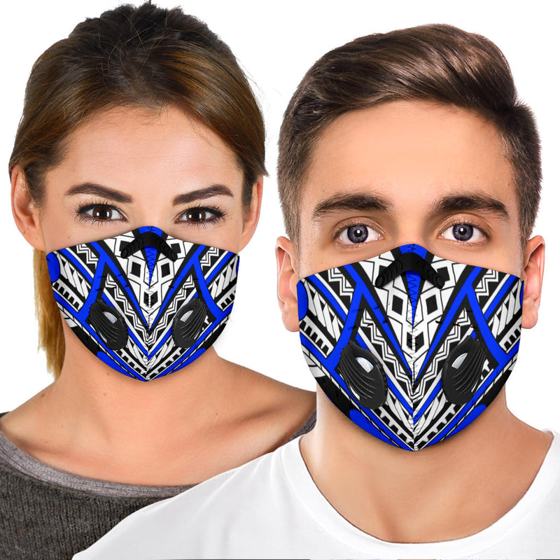 Premium Face mask - with the Island print