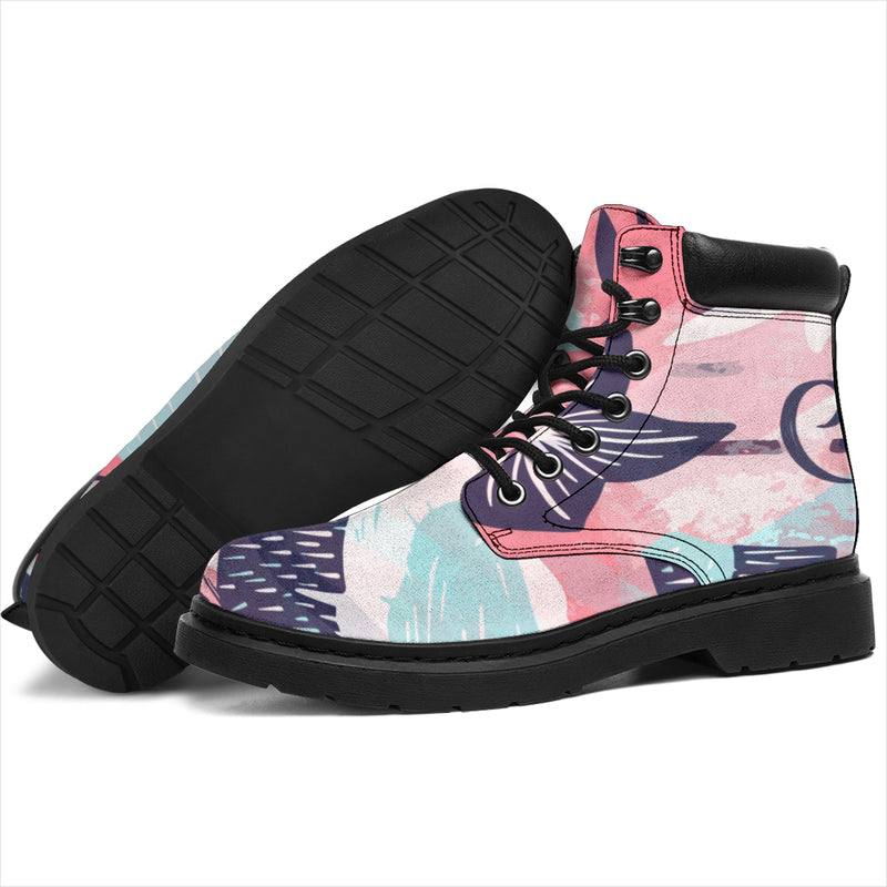 Pink Coconut All Season Boots