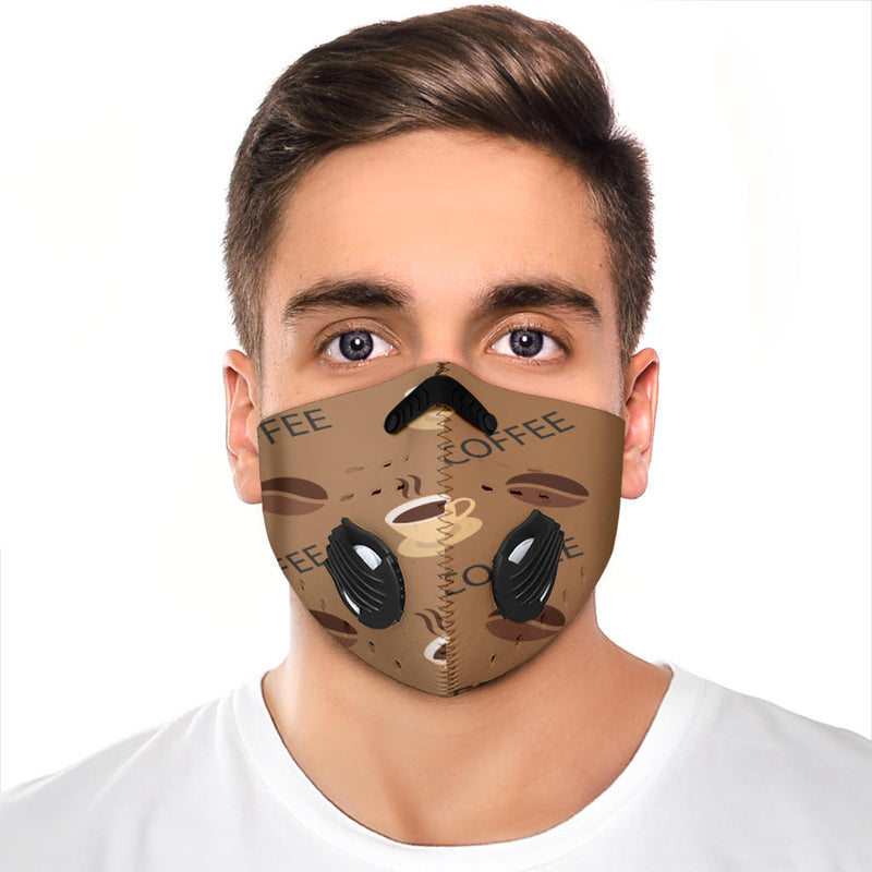 Premium Coffee Beans Face Mask