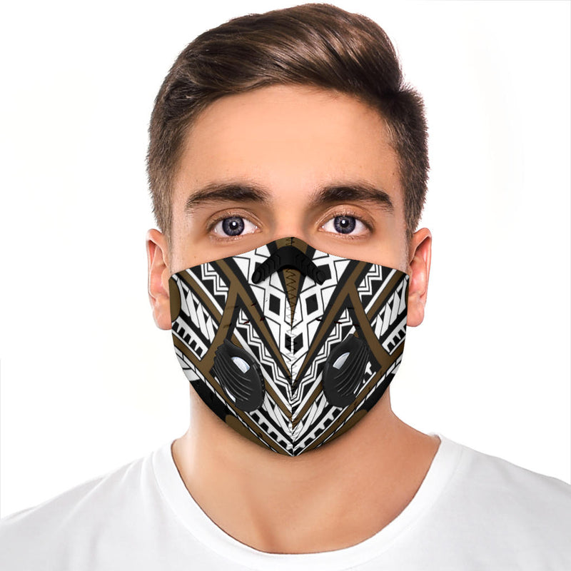 Premium Face Mask with the Island print