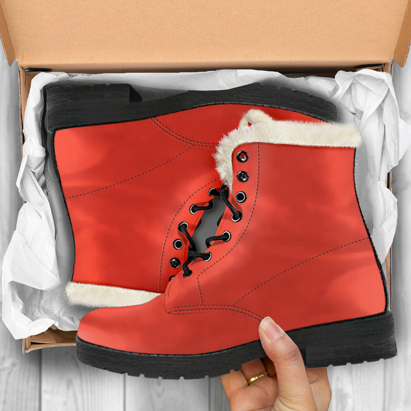 Fiesta - Faux Fur Leather Boots