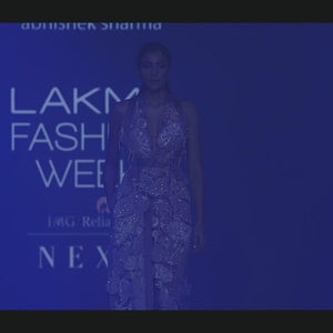 Load and play video in Gallery viewer, Embellished Jacket and Trouser. abhishek sharma, abhishek studio.
