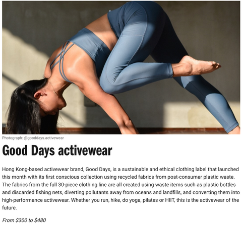 Time Out Good Days activewear