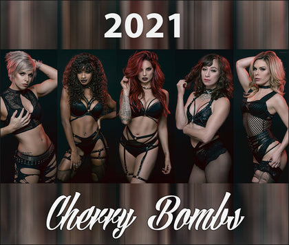 2021 Cherry Bombs Calendar - ROCK ICONS