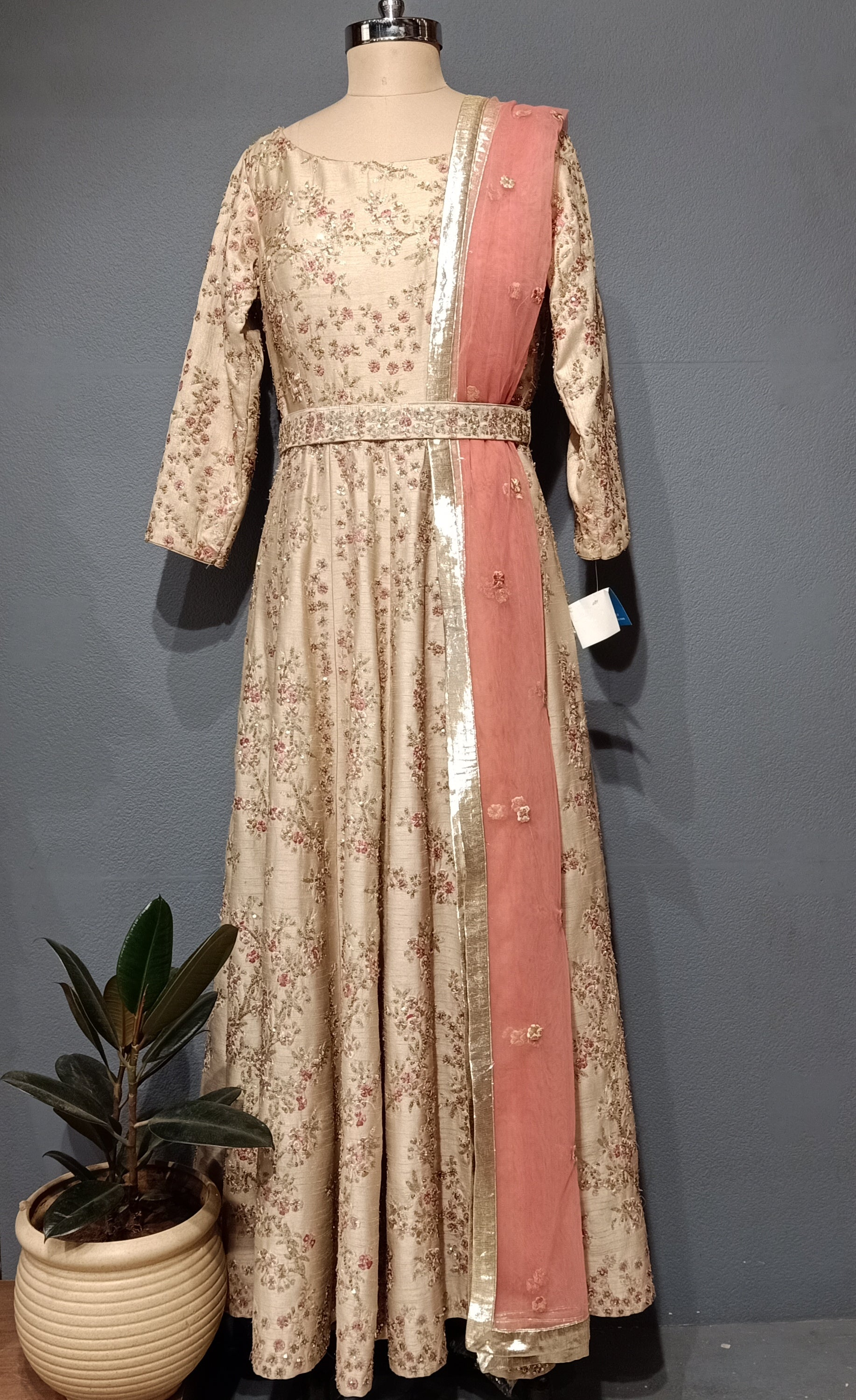 Beige Sabyasachi type Long Dress