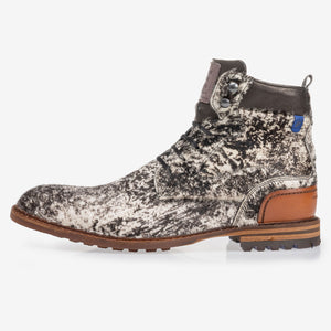 VETERBOOT PONY OFF-WHITE
