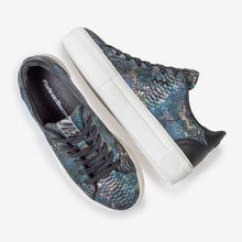 Afbeelding in Gallery-weergave laden, Floris Van Bommel sneaker snakeprint multi colour