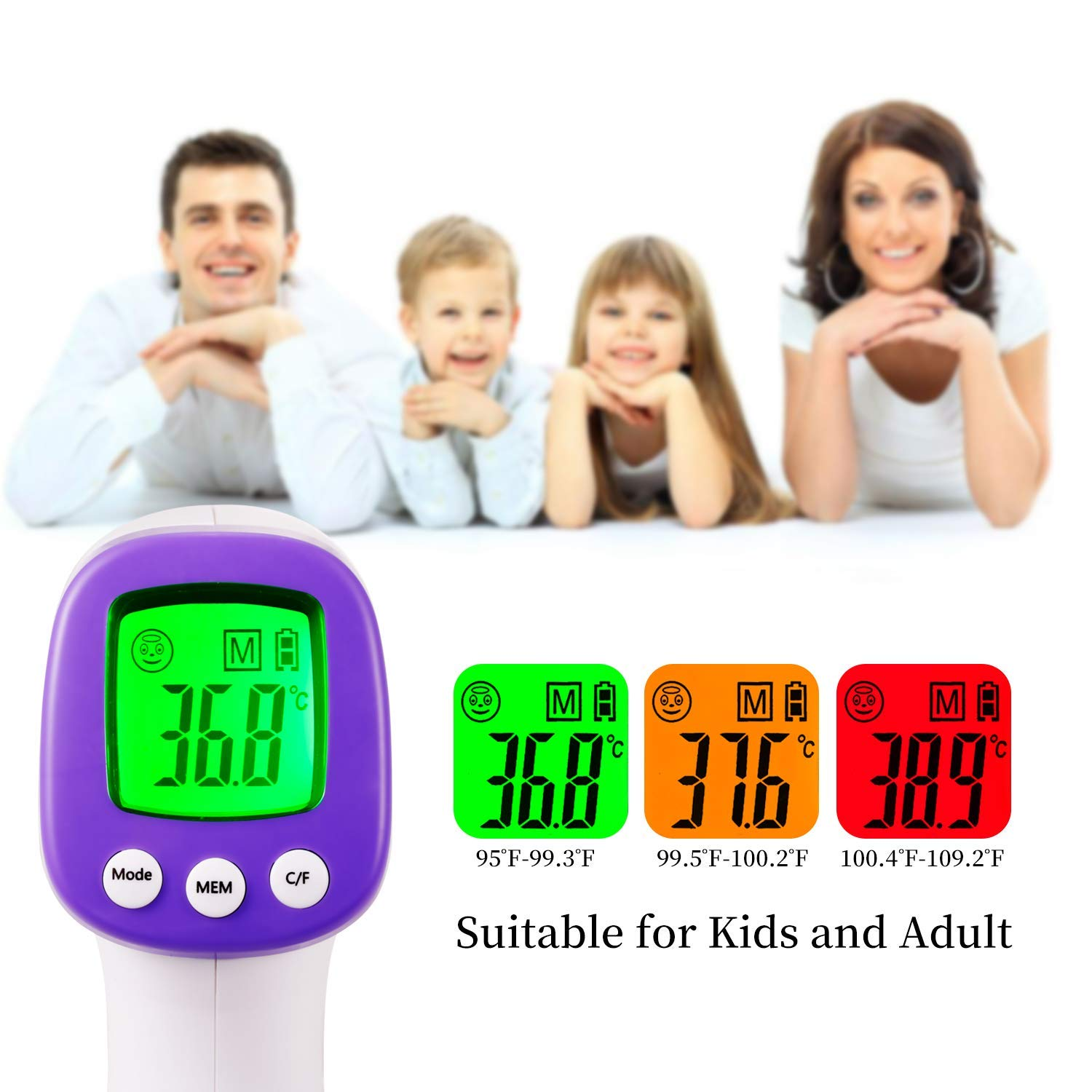 Infrared Forehead Thermometer Gun