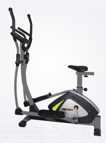 A Reach C-300 Elliptical Cross Trainer Machine with seat attached. (C-300S)