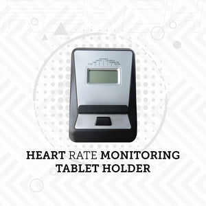 The LCD monitor of a Reach B-200 Magnetic Cycle that monitors heart rate, speed, time, calories burnt.