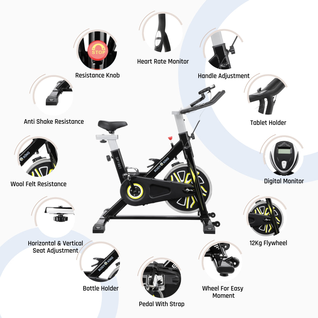 Reach Body King SP1901 Spin Bike