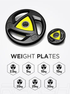 Weight plate Set (Pair Of 2)