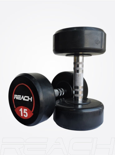 Reach Round Dumbbell Set (Red)