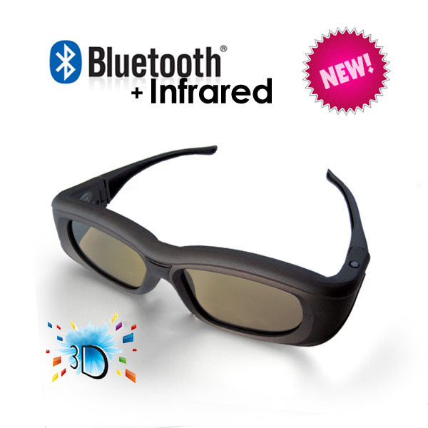 3D Active Glasses with Bluetooth & Infra-Red Technology - My Bonza Deals