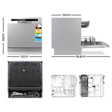 Load image into Gallery viewer, Devanti Benchtop Dishwasher 8 Place Setting - My Bonza Deals