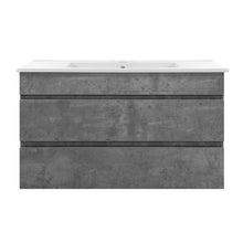 Load image into Gallery viewer, Cefito 900mm Bathroom Vanity Cabinet Basin Unit Sink Storage Wall Mounted Cement
