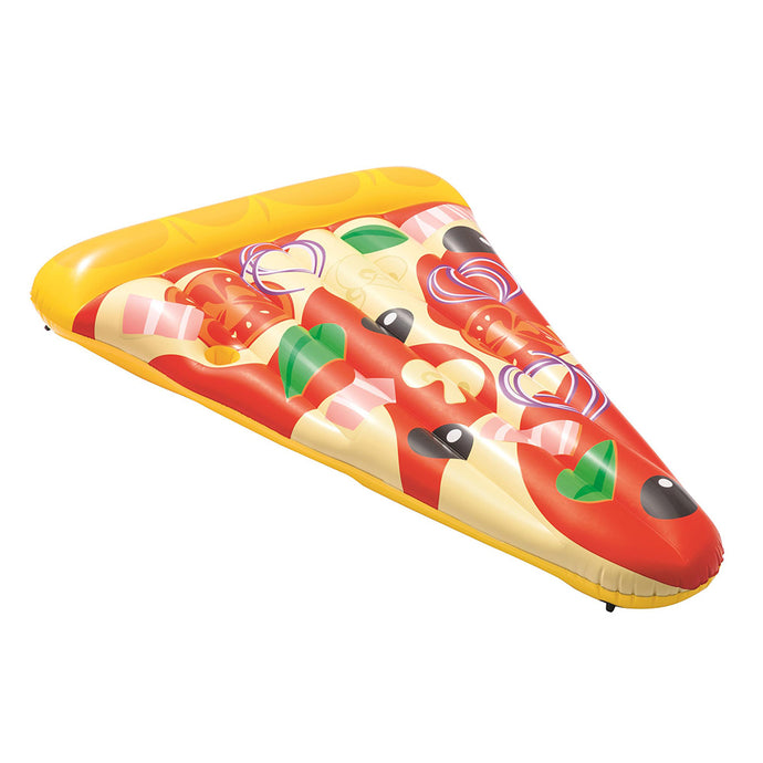 Bestway Inflatable Swimming Pool Pizza Slice Water Float Raft Lounge Toy Bed - My Bonza Deals