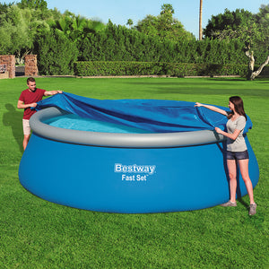 Bestway 4.57m Swimming Pool Cover For Above Ground Pools LeafStop - My Bonza Deals