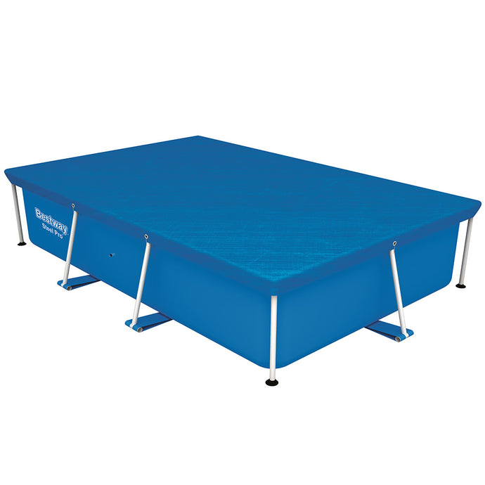 Bestway Swimming Pool Cover For 2.59mx1.7m Above Ground Pools LeafStop - My Bonza Deals